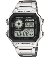 AE-1200WHD-1AVEF World Time 42.1mm