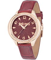 R7251571508 JC01 35.50mm Orologio al quarzo da donna color bordeaux