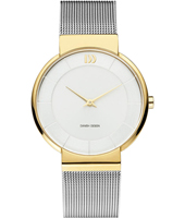 IV65Q1195  32mm Two tone ladies watch with steel bracelet