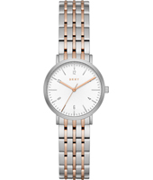 NY2512 Minetta Small Two tone ladies watch with bracelet