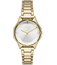 official photos ceb6a 65fcf Round Cityspire 34mm Gold ladies watch with a diamond cut crystal