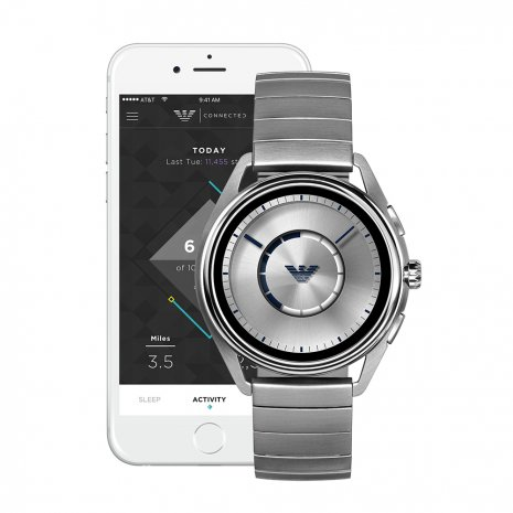 orologio argento Smart Digital