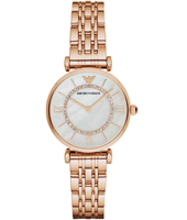 AR1909 Gianni T-Bar 32mm Orologio oro rosa da donna quadrante in madreperla