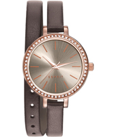 ES906572003 Gloria 32mm Ladies Watch with Double Twist Strap
