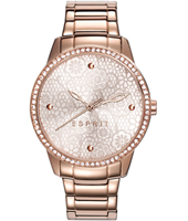 ES108882003 Secret Garden 36mm Ladies Quartz Watch with Flower Motif