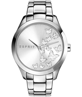 ES107282007 Silver Butterfly 38mm