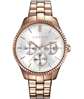 ES108942003 Vanity 36mm Ladies Quartz Watch with DayDate