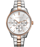 ES108942005 Vanity 36mm Ladies Quartz Watch with DayDate
