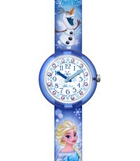 FLNP023 Frozen Elsa & Olaf 30mm