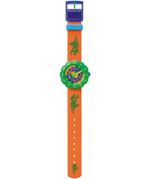 FPSP002 Pres-Cool Boy in Orange Orologio da bambino verde/arancio