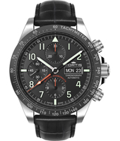 401.26.11 Classic Cosmonaut Ceramic 42mm Swiss Automatic Chronograph with DayDate