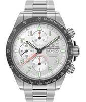 401.26.12 Classic Cosmonaut Ceramic 42mm Swiss Automatic Chronograph with DayDate