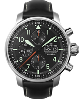 705.21.11 Flieger Professional 43mm Swiss Made Automatic Chronograph with DayDate