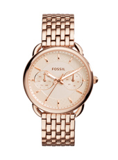 ES3713 Tailor 35mm Rose Gold Ladies Watch with Day-Date