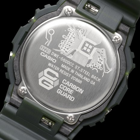 Limited Edition digital G-Shock with exchangeable bezel and 2 extra straps Collezione Primavera / Estate G-Shock