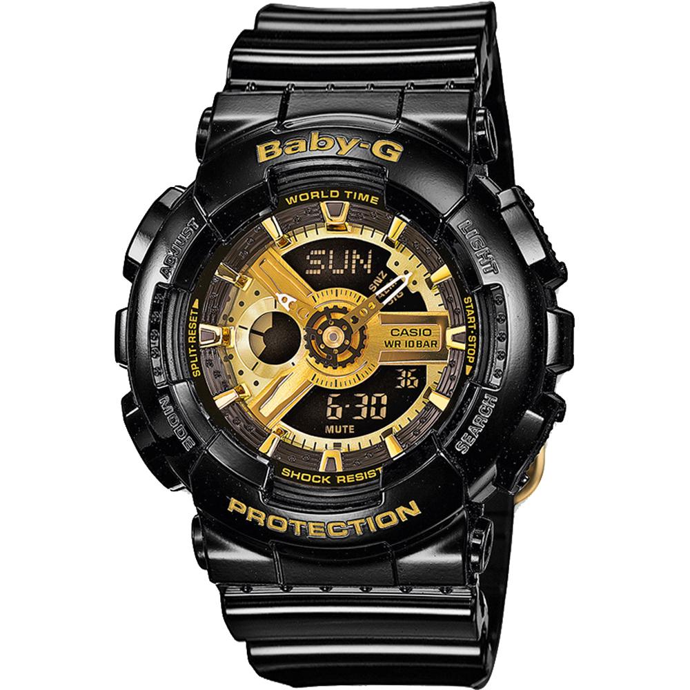 design di qualità 53c6c 50151 Garrish Black 43.4mm G-Shock donna nero e oro