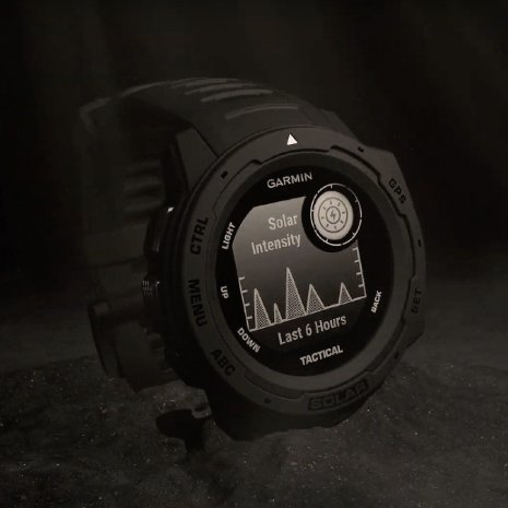 Solar GPS outdoor smartwatch with military functions Collezione Primavera / Estate Garmin