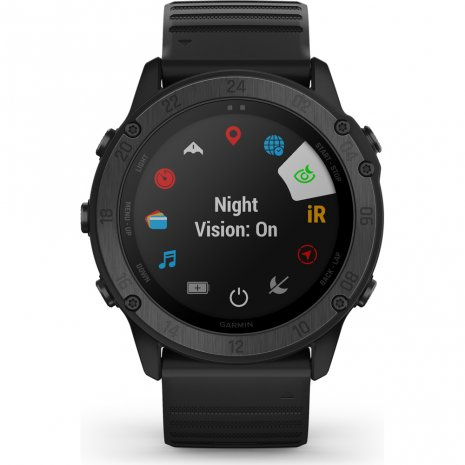 Tactical outdoor GPS smartwatch with stealth functionality Collezione Primavera / Estate Garmin