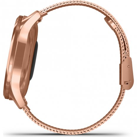 18K Rose Gold Hybrid Smartwatch with hidden touchscreen Collezione Primavera / Estate Garmin