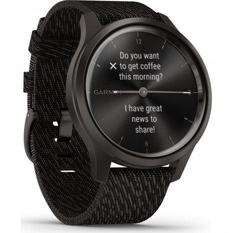 Hybrid smartwatch with hidden touchscreen Collezione Primavera / Estate Garmin