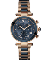 Y05009M7 Lady Chic 36.50mm Elegant Ladies Quartz Chronograph
