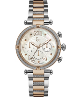 Y16002L1 Lady Chic 38mm Orologio al quarzo donna bicolore