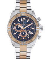 Y02002G7 Sport Racer 45mm Bicolor Rose Quartz Chronograph with Date