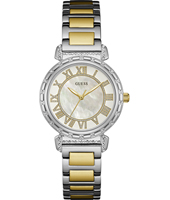 W0831L3 South Hampton 34mm Orologio al quarzo da donna due toni con quadrante madreperla