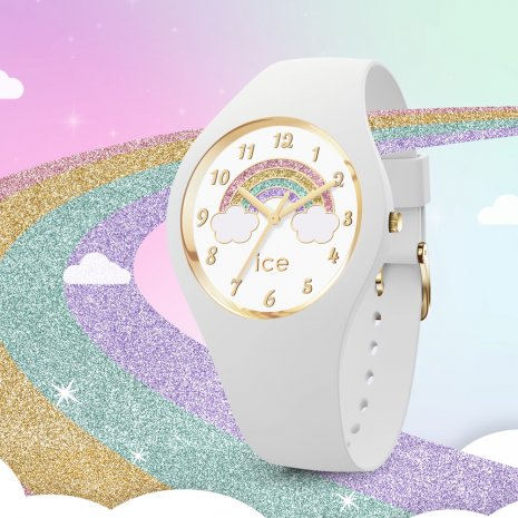 White quartz watch for kids Collezione Primavera / Estate Ice-Watch