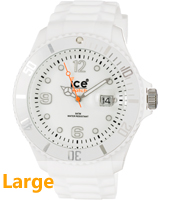 SI.WE.B.S.09 Ice-Forever 48mm Orologio bianco misura Big