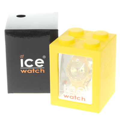 Ice-Watch orologio giallo