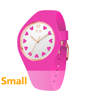 013369 Ice-Love 34mm Pink & rose gold silicone watch