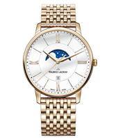 EL1108-PVP06-112-1 Eliros 40mm Swiss Gents Watch with Moonphase