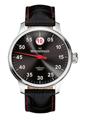 SAM907 Salthora Meta 43mm Swiss Automatic 'Jumping Hour' watch