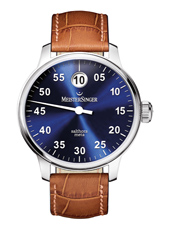 SAM908 Salthora Meta 43mm Swiss Automatic 'Jumping Hour' watch