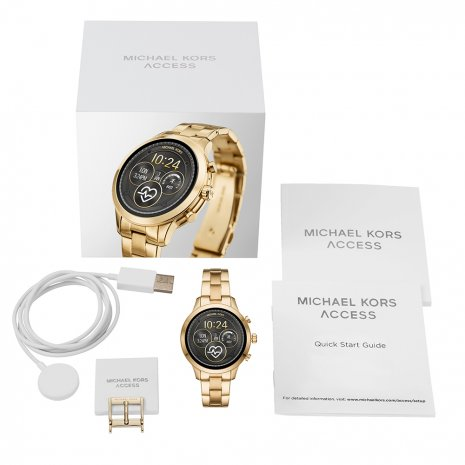 Touchscreen Smartwatch with Steel Bracelet - Gen4 Collezione Autunno / Inverno Michael Kors
