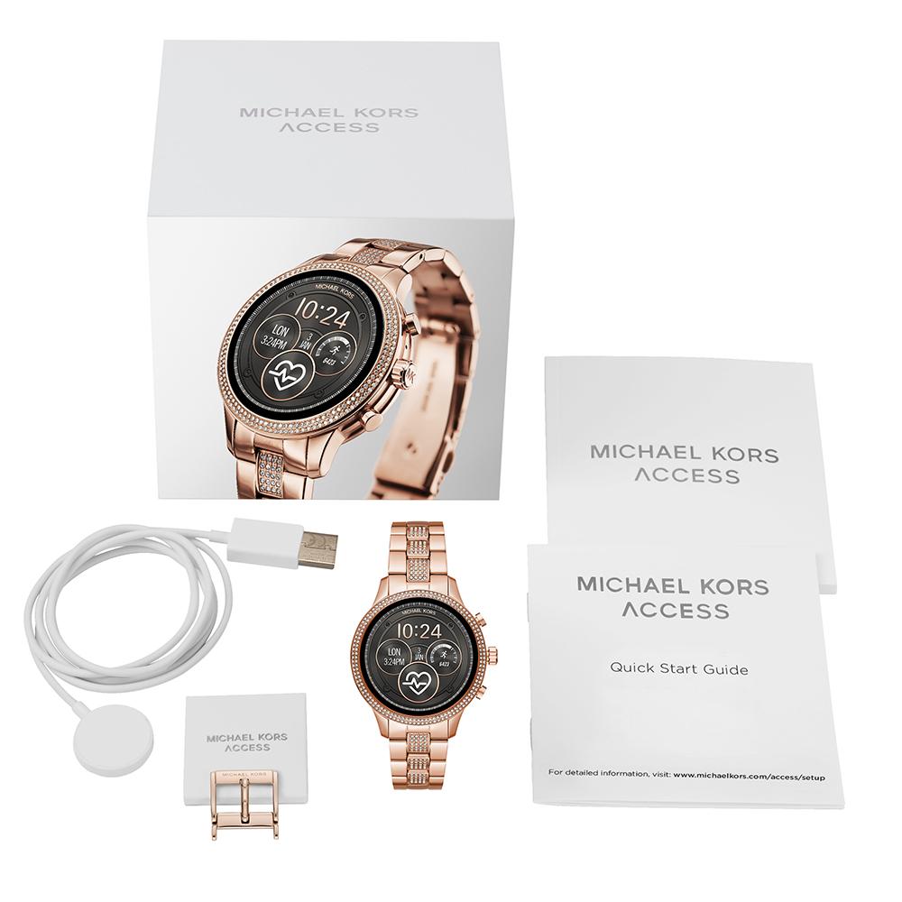2d7d9671b85a6c orologio Oro rosa Smart Digital · Smartwatch touchscreen con bracciale  acciaio Gen4 Collezione Autunno / Inverno Michael Kors