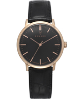 RA361RG31CBK Elite 35.50mm Rose Gold Gents Quartz Watch