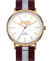 SYG183VE Oxford 38.50mm Gents Quartz Watch with Textile Strap