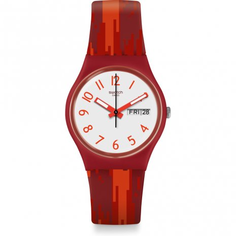 Swatch Red Flame orologio
