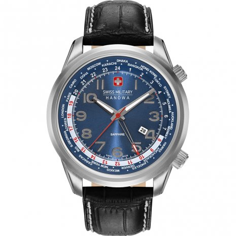 Swiss Military Hanowa Worldtimer orologio