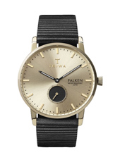 FAST107WC010112 Falken 38mm Minimalist watch with small second