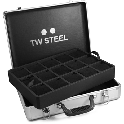 TW Steel Aluminum Display Case Box dell'orologio